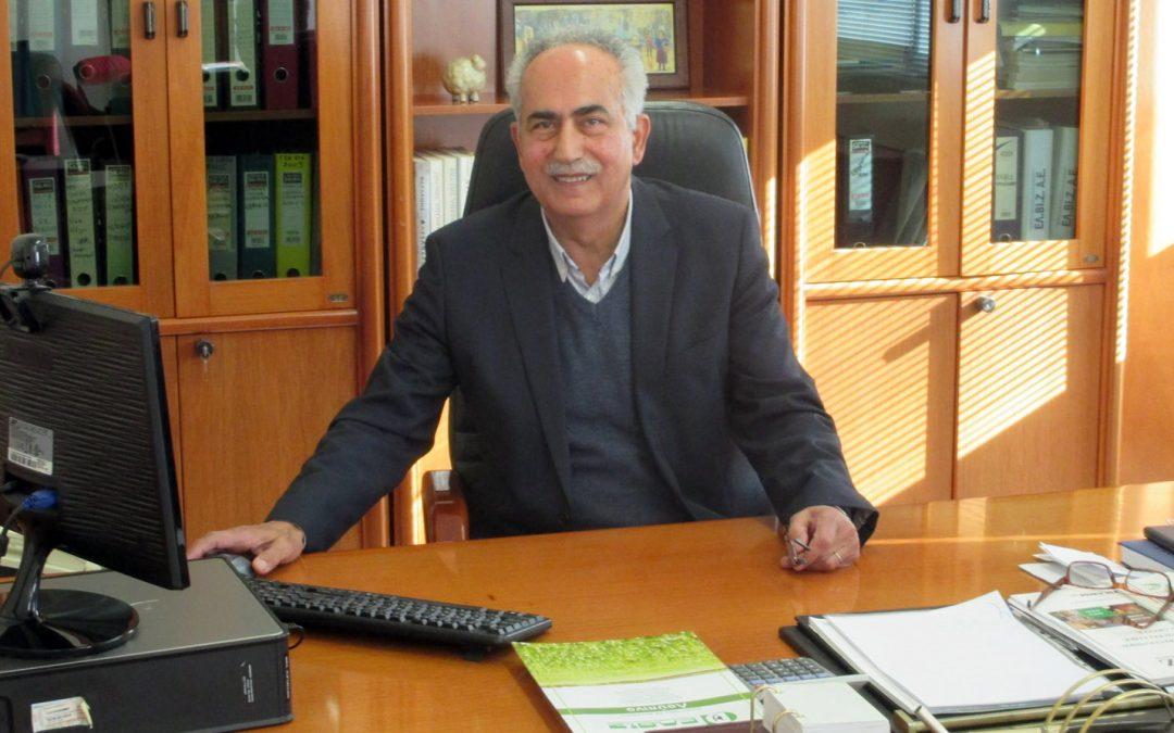 Βασίλης Χαλκίδης: «Όχι στους αυτοσχεδιασμούς, ναι στις πιστοποιημένες ζωοτροφές»